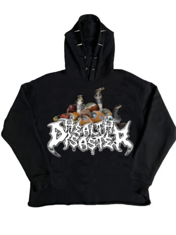 health disaster spiked hoodie HNN x SVD